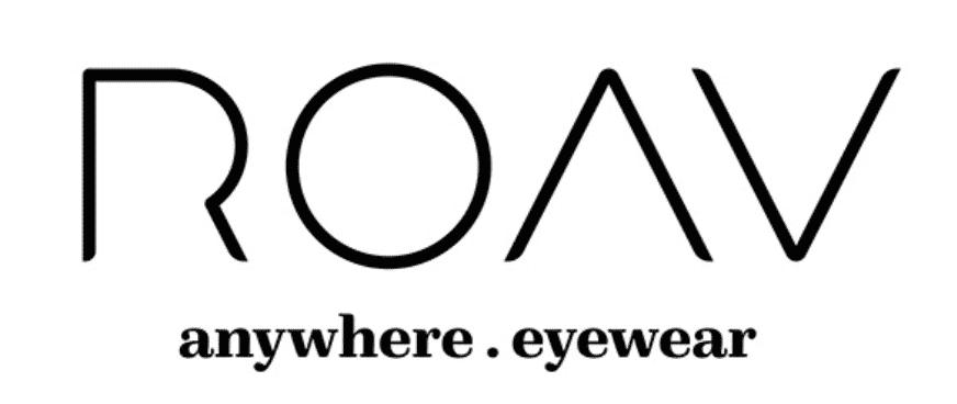 logo roav anywhere eyewear