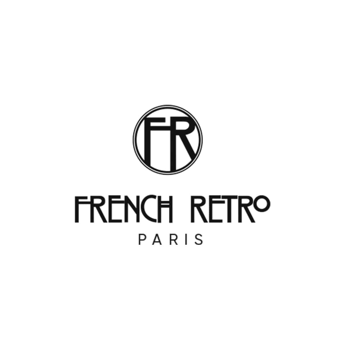 logo french retro